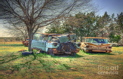 Junk Photograph - Twisted by Hilton Barlow