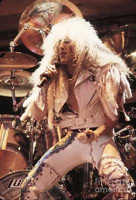Twisted Sister - Dee Snider Print by Concert Photos