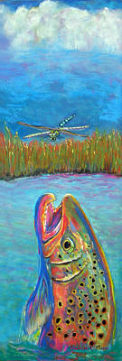 Pastel - Two Emperor's by Anderson R Moore