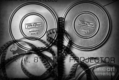 8mm Photograph - Two Guys Movie Film Cans by Paul Ward