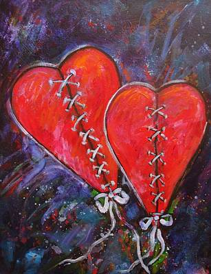 Two Hearts Original by Carol Suzanne Niebuhr