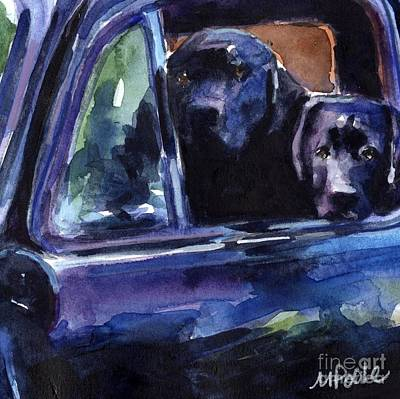 Chevy Painting - Two Into Fifty One by Molly Poole