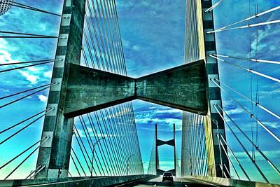 Napoleon Bonaparte Digital Art - Two Miles Of Beautiful Bridge  by Nancy Miller