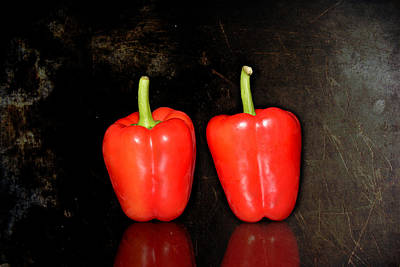Two Red Peppers Original by Toppart Sweden