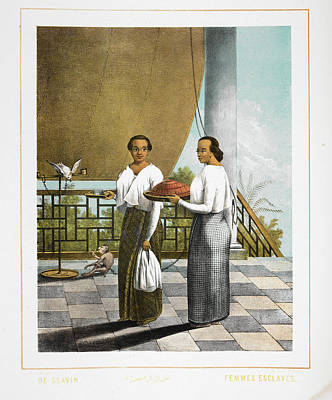 Two Servants Print by British Library