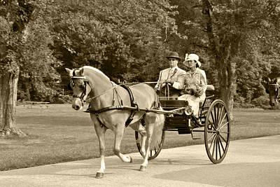 Two Wheel Cart Print by Wayne Sheeler
