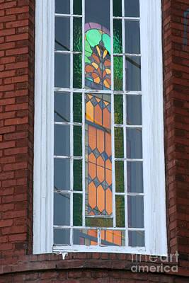 Photograph - Two Windows At St. John by Jennifer Apffel