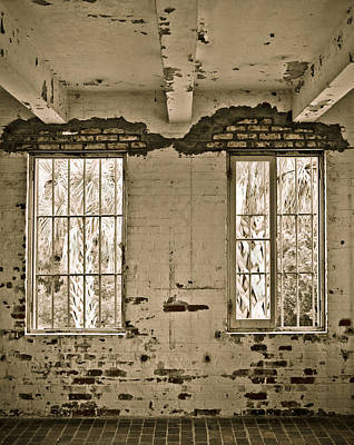2 Solitudes Photograph - Two Windows by Marilyn Hunt