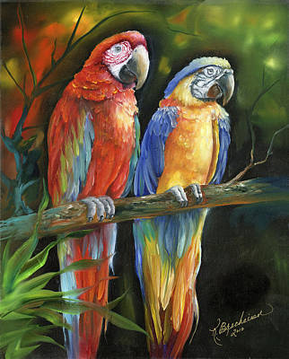 Two's Company Original by Kathy Brecheisen