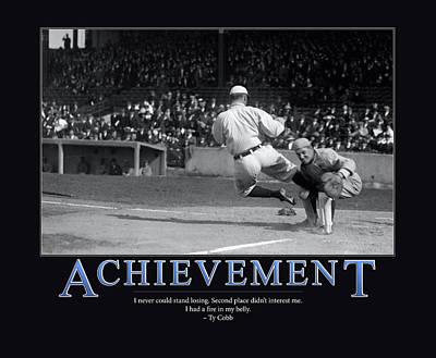 Cobb Photograph - Ty Cobb Achievement  by Retro Images Archive