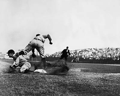 Ty Cobb Famous Slide Print by Retro Images Archive