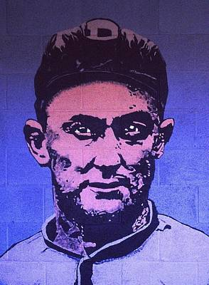 Ty Cobb Print by Ralph LeCompte