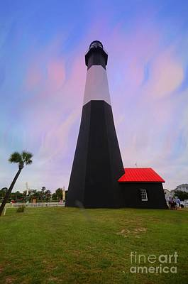 Tybee Island  Lighthouse Print by Kathleen Struckle
