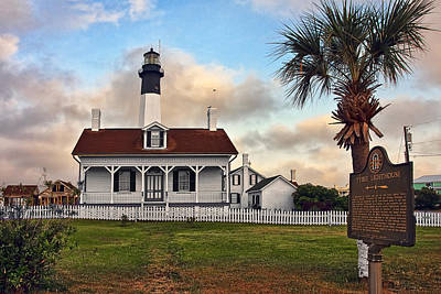 Mood Photograph - Tybee Lighthouse Sunrise by Marcia Colelli