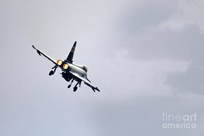 Raf Photograph - Typhoon Burner by J Biggadike
