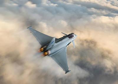 Nato Digital Art - Typhoon Warning by Peter Chilelli