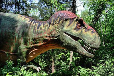 Tyrannosaurus Rex  T. Rex Print by Kristin Elmquist