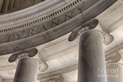 Jefferson Memorial Digital Art - Tyranny by Jerry Fornarotto