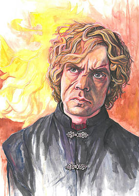 Tyrion Lannister Painting - Tyrion Lannister by Tyler Auman