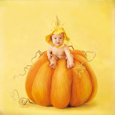 Crafted Photograph - Tyse by Anne Geddes