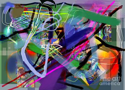 Tzaddik Digital Art - Tzaddik 6e by David Baruch Wolk