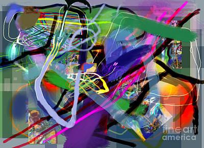 Tzaddik Digital Art - Tzaddik 6e1 by David Baruch Wolk