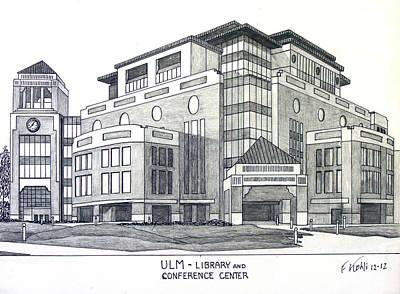 U L M Print by Frederic Kohli