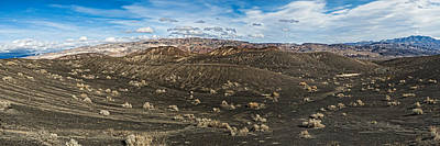 Ubehebe Lava Fields, Ubehebe Crater Print by Panoramic Images