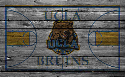 Ucla Bruins Print by Joe Hamilton