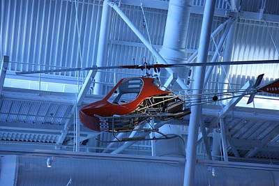 Helicopter Photograph - Udvar-hazy Center - Smithsonian National Air And Space Museum Annex - 1212102 by DC Photographer