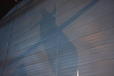 Center Photograph - Udvar-hazy Center - Smithsonian National Air And Space Museum Annex - 121261 by DC Photographer