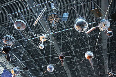 Center Photograph - Udvar-hazy Center - Smithsonian National Air And Space Museum Annex - 121277 by DC Photographer