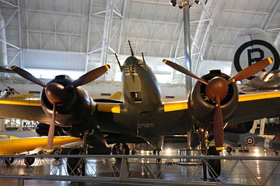 Udvar-hazy Center - Smithsonian National Air And Space Museum Annex - 121285 Print by DC Photographer