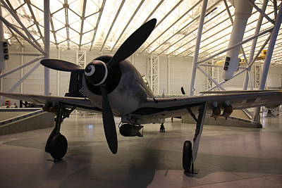 Airplane Photograph - Udvar-hazy Center - Smithsonian National Air And Space Museum Annex - 121286 by DC Photographer