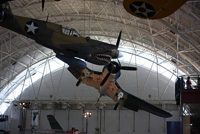 Airplane Photograph - Udvar-hazy Center - Smithsonian National Air And Space Museum Annex - 121293 by DC Photographer