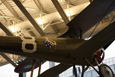 Jets Photograph - Udvar-hazy Center - Smithsonian National Air And Space Museum Annex - 121294 by DC Photographer