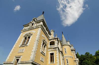 Ukraine, Yalta Massandra Palace, Summer Print by Cindy Miller Hopkins