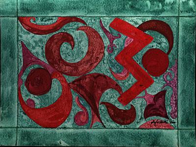 Painting - Ulsigi Gigage by Gayla Abel Hollis