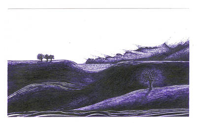 Ultra Violet Print by Joshua Beard