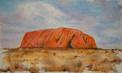 Uluru Print by Lyndsey Hatchwell