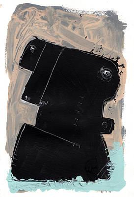 Mark M. Mellon Painting - Umbra No. 1 by Mark M  Mellon