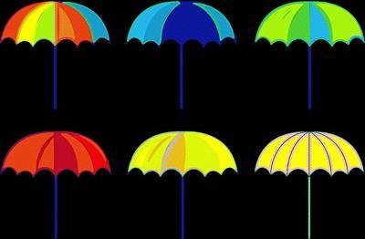 Rihanna Digital Art - Umbrella Ella Ella Ella by Florian Rodarte
