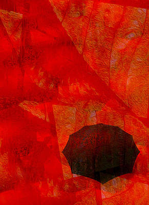 Umbrella Print by Jack Zulli