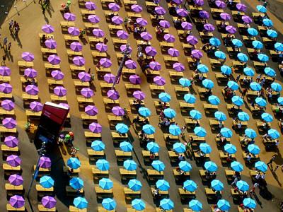 London Photograph - Umbrellas by Jon Berry OsoPorto