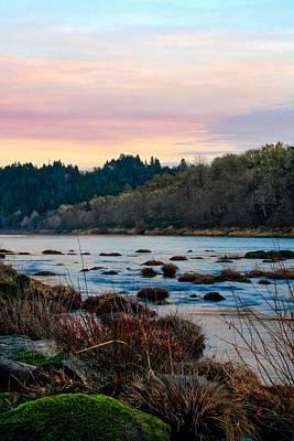 Elkton Photograph - Umpqua Sunset by Pamela Winders
