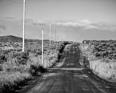 Umptanum Road - Kittitas County - Washington Print by Steve G Bisig
