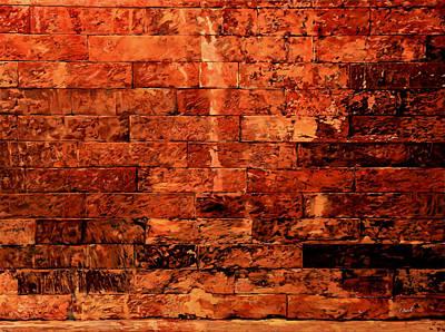 Brick Painting - Un Po' Per Ridere by Guido Borelli