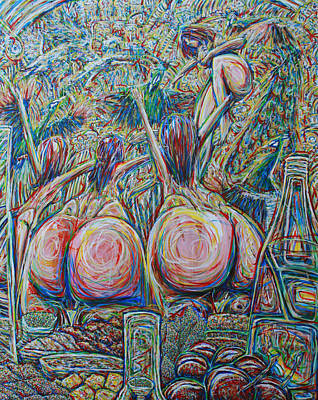 Unagi Celebration On Horn Island Original by Ian Oliver