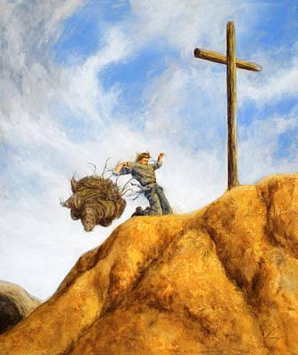 Forgiveness Painting - Unburdened by Douglas Ramsey