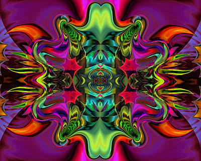 Contemporary Abstract Digital Art - Uncertain Direction by Claude McCoy